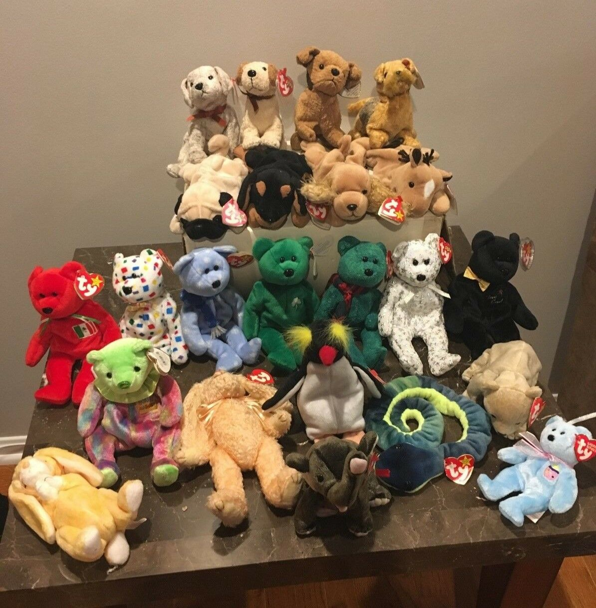 RARE RETIRED TY Beanie Baby Collection 1995-2000 (23 items) Great Great Great condition    3ff9ef