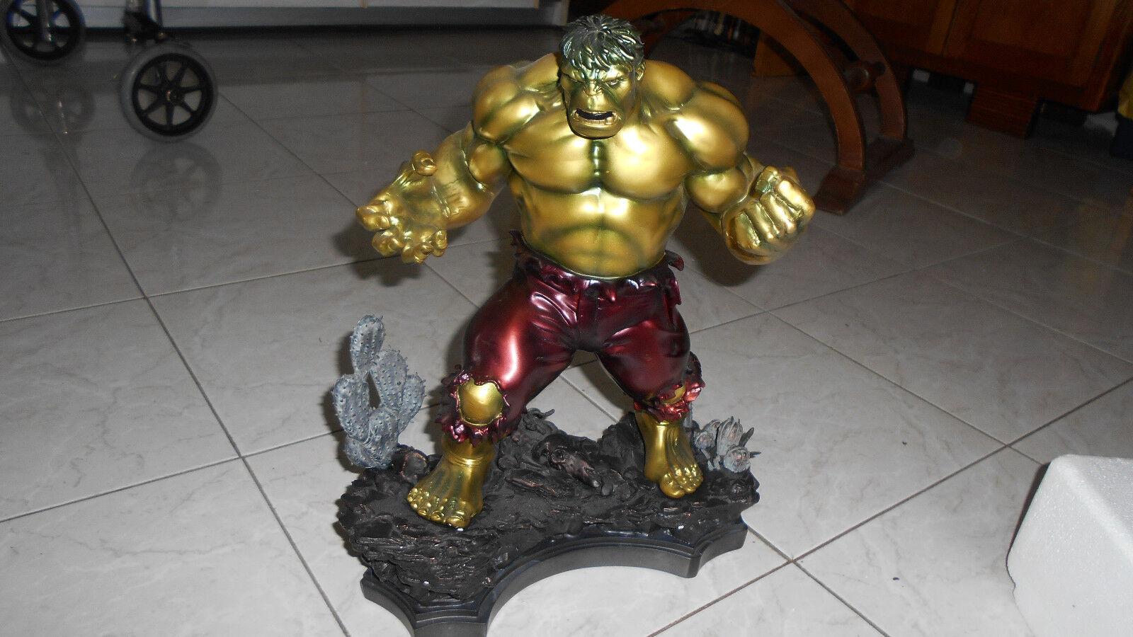Hulk retro statua Bronze  Bowen   Marvel    n 107/240