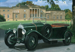 Print-on-canvas-1923-Bentley-3-0L-by-Toon-Nagtegaal-OE