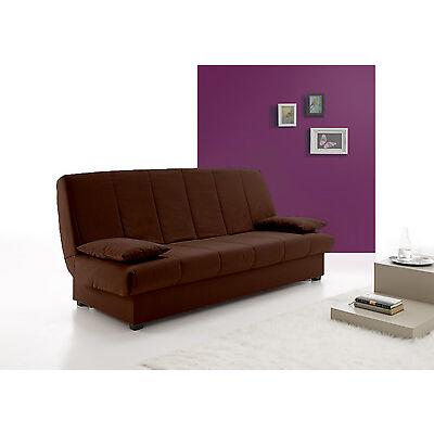 Hogar24.es - Sofas sofa cama clic clac desenfundable con arcón de almacenaje