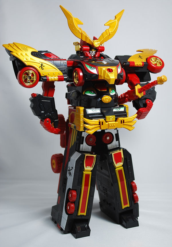 DX Engine Combination ENGINE DAISHOGUN Megazord Power Rangers Go-onger JapanRare
