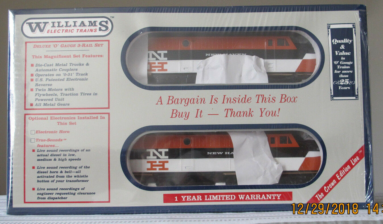 Williams Electric Trains - New Haven Power A w Horn Cab   O789