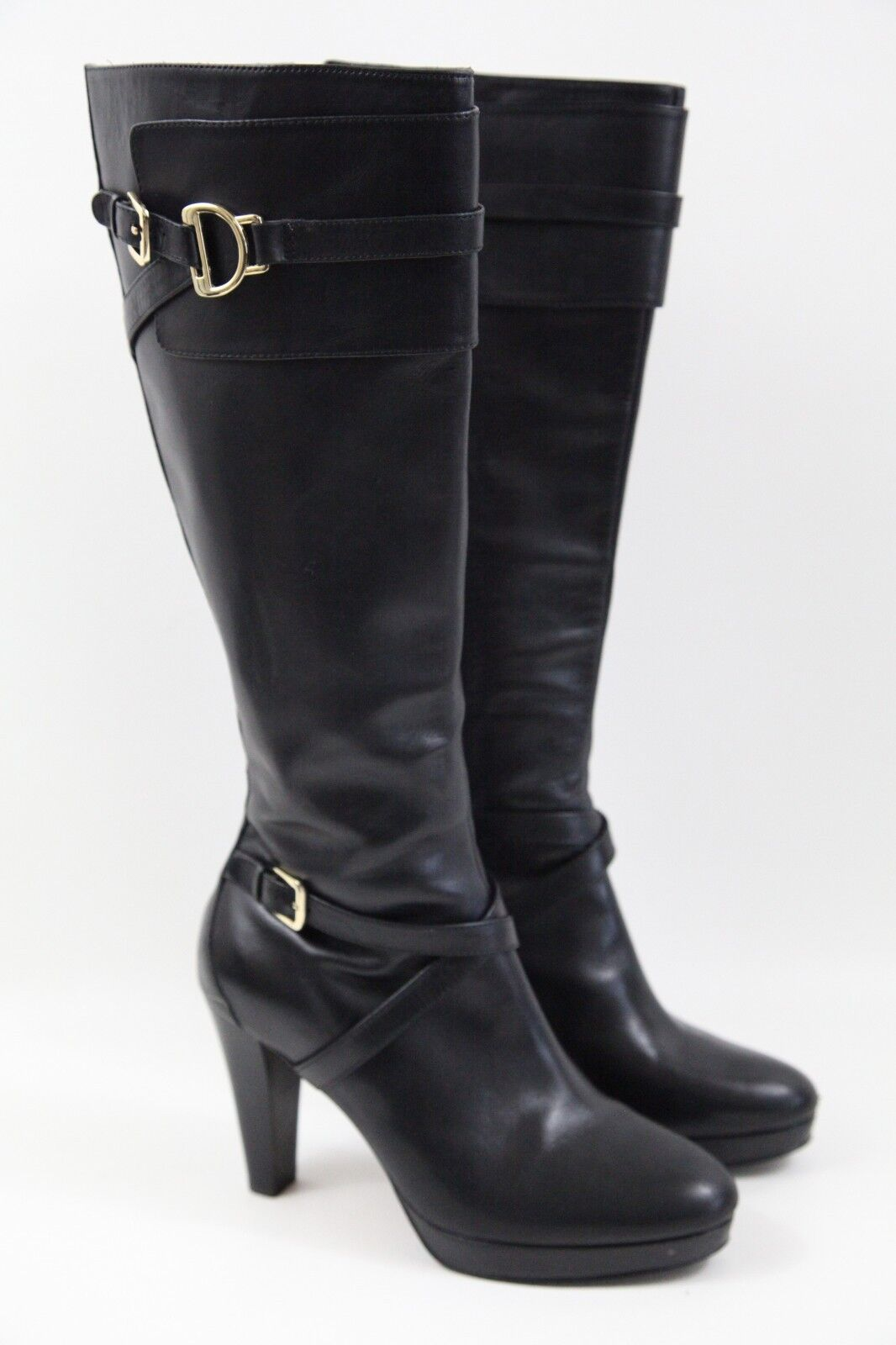 ##$498 Cole Haan Poppy Boot in Black Size 8 B
