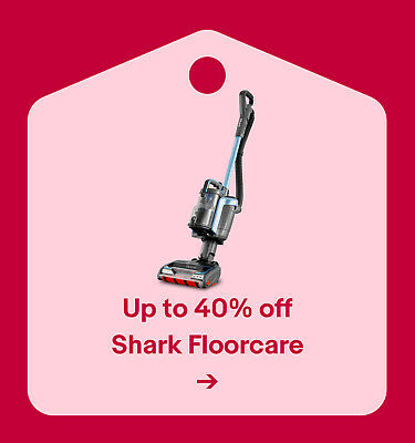 Up to 40% off Shark Floorcare
