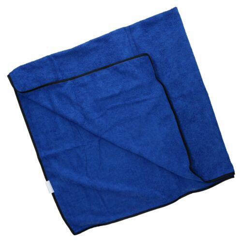 bleu Deux Microfibre Absorbant Pet Dog Travel Serviette 100x70cm