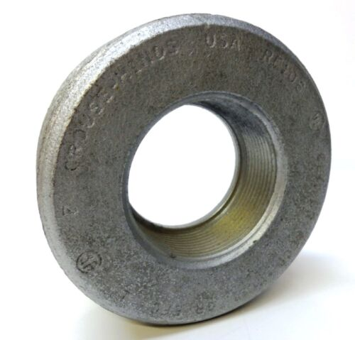 """EFG MADE IN USA CROUSE HINDS CONDUIT REDUCER HUB BUSHING RE106 IRON 4/"""" TO 2/"""""""
