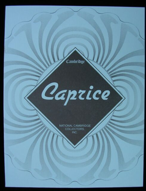 BOOK - - A Reference Guide on Cambridge CAPRICE