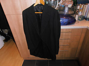 1930s Austin Reed Black Morning Dress Tailcoat Size 40 Ebay