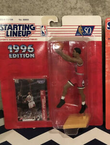 1996  Scottie Pippen Chicago Bulls Starting Lineup NBA  Last Dance HOF