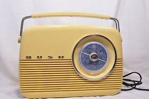 Vintage-Style-Bush-FM-MW-LW-Radio-TR82-B-Cream-amp-Blue