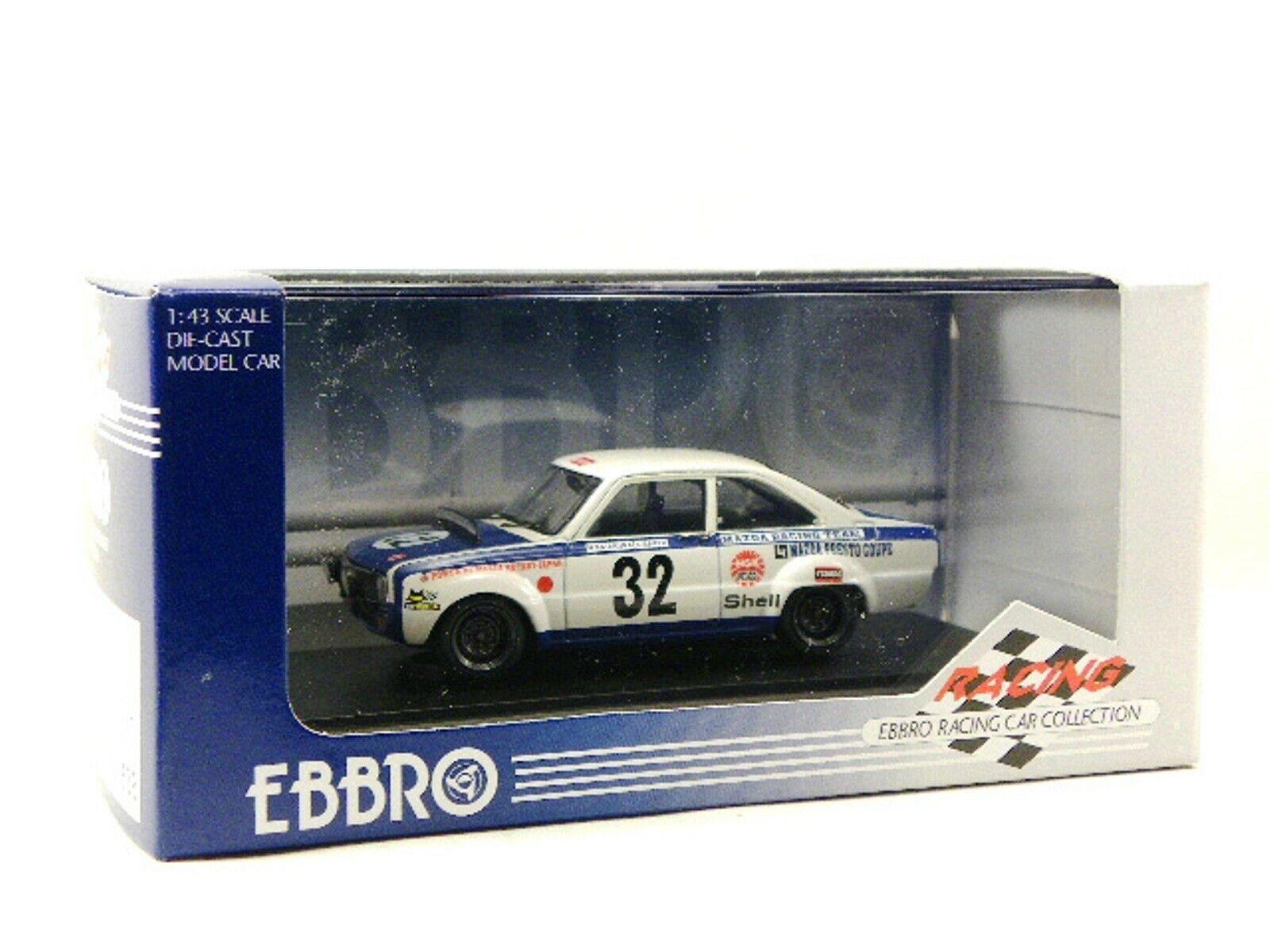 WOW EXTREMELY RARE Mazda R100 Familia Presto Rotary  32 24h Spa 1970 1 43 Ebbro
