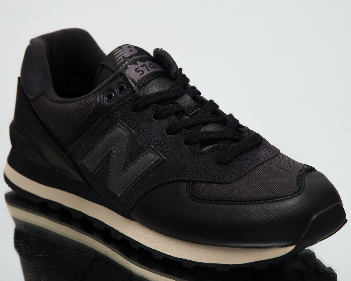 New New New Balance 574 Niedriges Top Herren Lifestyle Schuhe Schwarz 2018 Neu Turnschuhe 459b68
