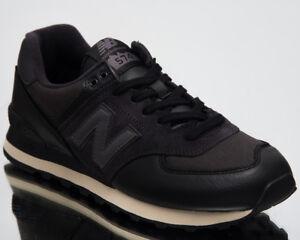 c5ad23e2a069 New Balance 574 Low Top Men s Lifestyle Shoes Black 2018 New ...