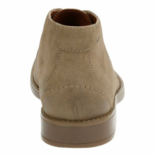 Leather Boot 7 para Taupe 9 Uk 5 Clarks Garren Free 11 Chukka hombres wd0nHXzq