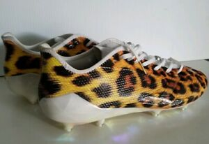 detailed look bd5ab 4839e Image is loading Adidas-Adizero-5-Star-6-0-Uncaged-Cheetah-