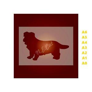 NORFOLK-TERRIER-Dog-Stencil-350-micron-Mylar-not-Hobby-stuff-DOGS113