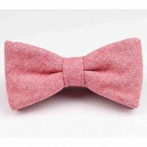 Excellent Quality /& Reviews Wool Pocket Square New Vintage Intense Pink Tweed