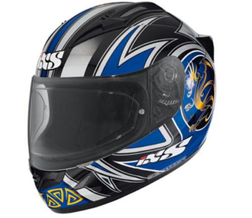 "IXS Helm HX 404 /""DRAGON/"" Carbon-Fiberglas Gr XL 61 High-End Integralhelm"