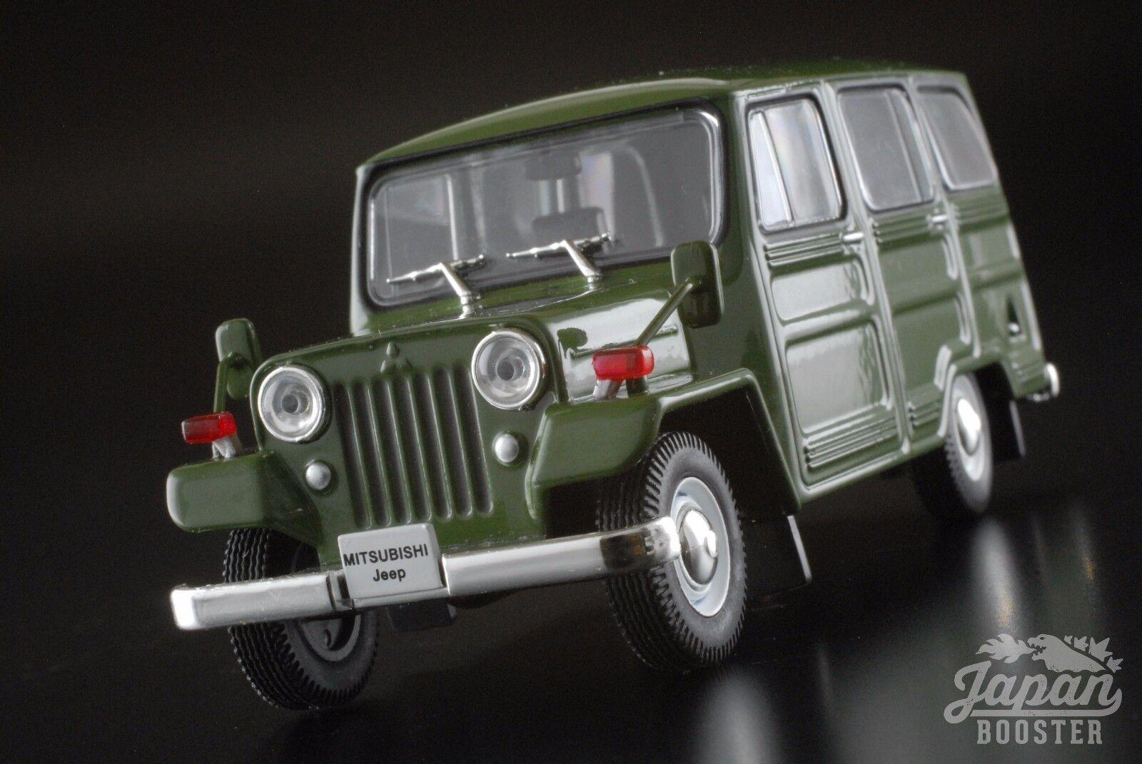 [First43 1  43] Mitsubishi Jeep J30 1961 Grön F43 -013