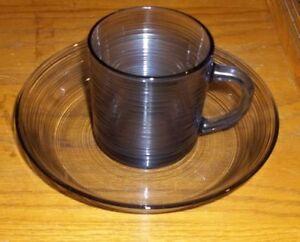 Vintage-Spun-Design-Blue-Glass-Cup-and-Saucer