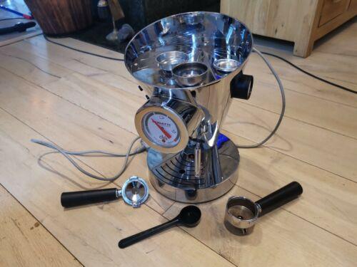 Bugatti DIVA Espresso Coffee Machine in Chrome Single / Double Ground / ESE pods