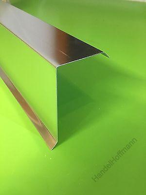 Gut 2m Ortblech Ortgangblech Ortgang Flachdach Dachrand Dachrandblech Titanzink Alu Harmonische Farben Heimwerker Fürs Dach