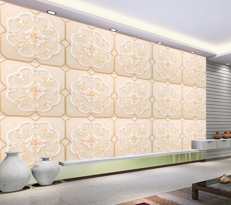 3D Marble Pattern 84 Wallpaper Mural Paper Wall Print Wallpaper Murals UK Lemon