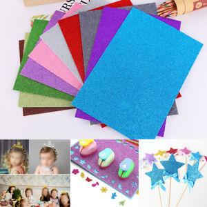 1-Pack-Glitter-EVA-Foam-Paper-Sheet-Sponge-Soft-Touch-Arts-Crafts-DIY-Accessory