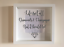 IKEA-RIBBA-Box-Frame-Personalised-Vinyl-Wall-Art-Quote-Life-isnt-all-about thumbnail 7