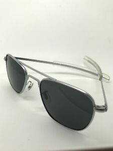 e5fa8153e17 Image is loading 52mm-Vintage-Randolph-Engineering-Aviator-air-force- Sunglasses-