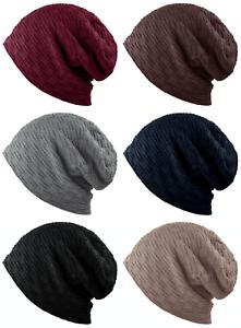 CAPRIUM Feinstrick Mütze mit Flecht Muster und sehr weichem Innenfutter 00065254
