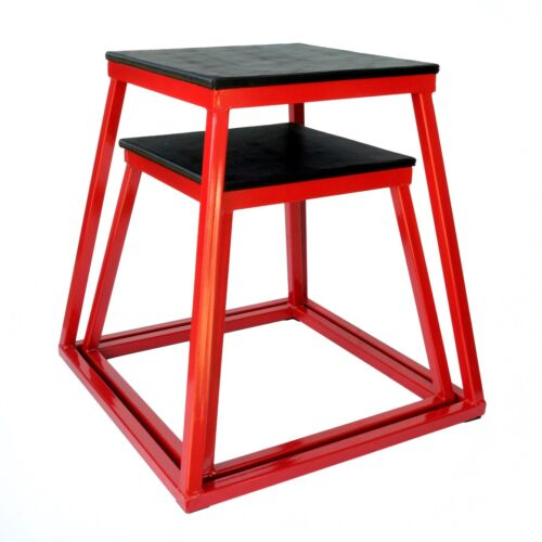 "24/"" Ader Red Steel Plyo Jump Box Set 18/"""