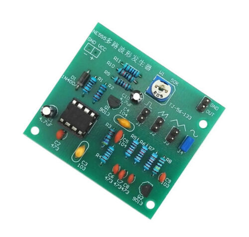 DIY Kits NE555 Multi-Channel Waveform Generator Suite For Electronic Experiment
