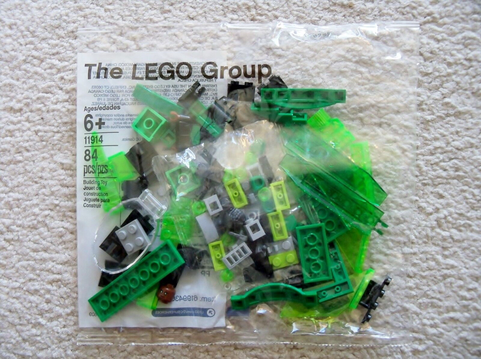 LEGO DC Superheroes - 11914 Green Lantern - John Stewart And Spaceship - Sealed