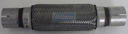 Premium Flexrohr Flexstück Auspuff Rohr 45X200X300 MM mit Rohrstutzen geschlitzt