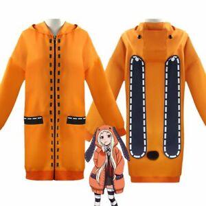 Anime Kakegurui Compulsive Runa Yomozuki Loli Uniform Coat ...