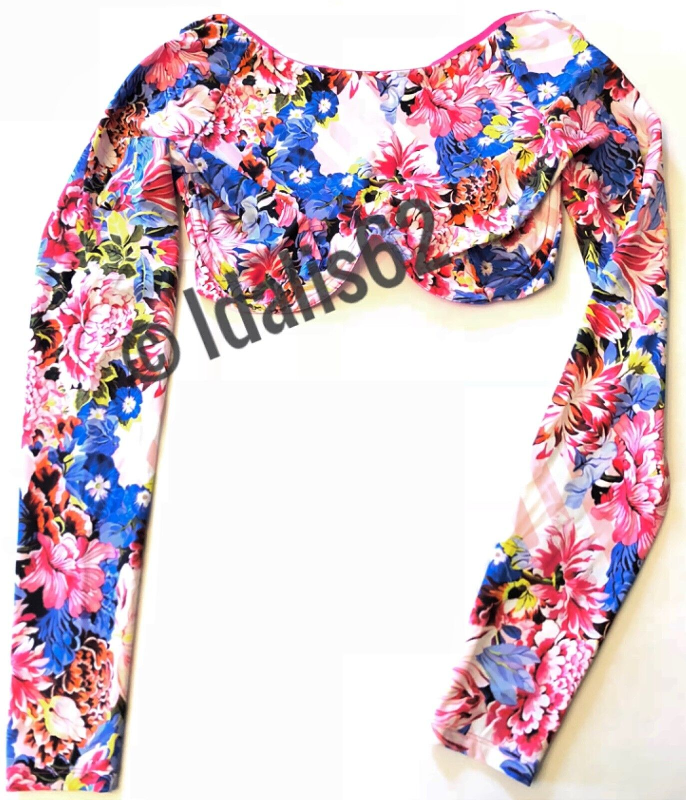NWT Victoria's Secret x Mary Katrantzou SOLD OUT Floral Bra Crop Top S
