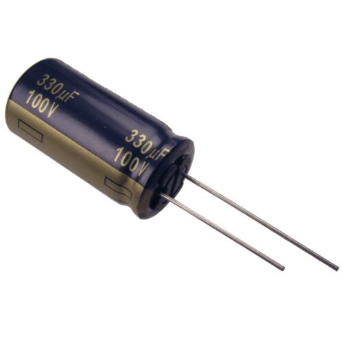 Elko Panasonic FC 330uf 100v 105 ° C low Impedance condensador radial 854488