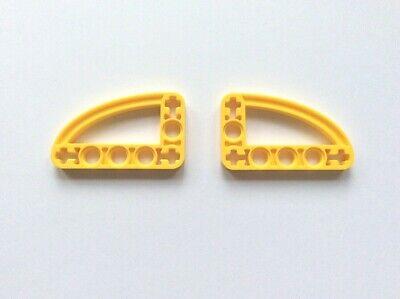 ⭐️2 x BRAND NEW LEGO 32250 LIFTARM 3 x 5 L-SHAPE ELLIPSE DARK AZURE 6211957⭐️