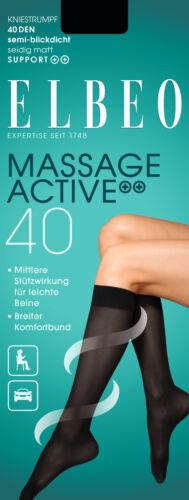 colori della pelle ELBEO Donna KH 40 massaggio Active contenitive 405 semitrasparente