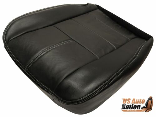 2008 Ford F250 F350 LIFTED 4X4 Diesel FX4 Driver Bottom Leather Seat Cover Black
