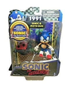 Jazwares-Sonic-The-Hedgehog-Sonic-amp-Moto-Bug-Sonic-20ThAnniversary-Action-Figure