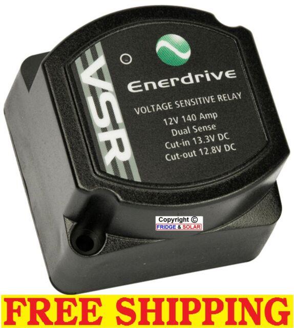 ENERDRIVE 12V DUAL BATTERY ISOLATOR (VSR) DUAL SENSING CIRCUIT, VERY SMART!