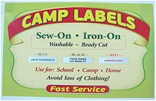 Details about  /Super Name Tape Iron on Labels