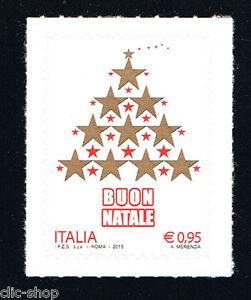 Buon Natale Italia.Italia 1 Francobollo Natale Buon Natale 2015 Nuovo Ebay