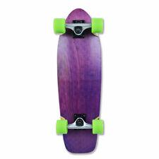 NEW PURPLE Complete Longboards Mini Cruiser Skateboard