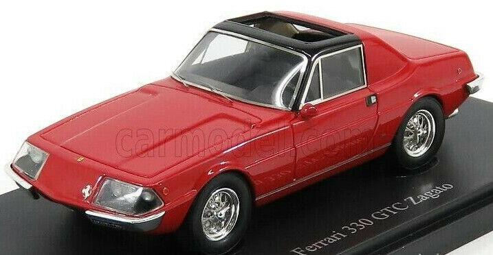 Wonderful resin-modelcar FERRARI 330 GTC ZAGATO 1967 - rot - 1 43