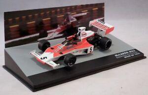 McLAREN-FORD-M23-Emerson-Fittipaldi-P1-Espagne-GP-1974-F1-voitures-echelle-1-43