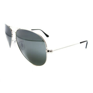 245de79ff1 Ray-Ban Sunglasses Aviator 3025 W3277 Silver Grey Mirror Medium 58mm ...