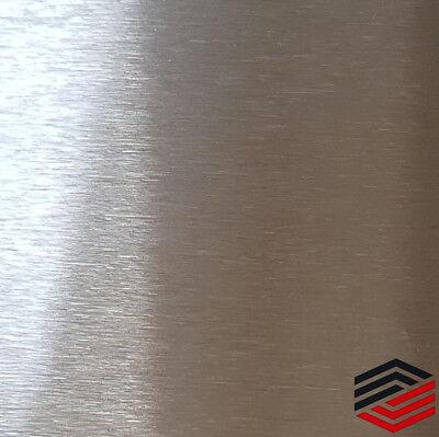 500mm x 500mm x 2mm Edelstahl Blech Edelstahlplatte Platte geschliffen K240
